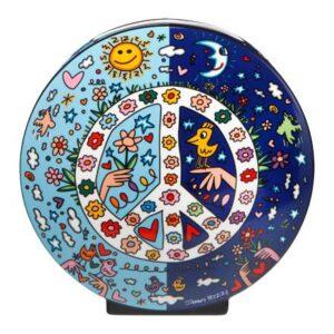 Goebel Rizzi Birds Love the Moon James Rizzi Nouveauté 2019 Pop Art Art Nouveau
